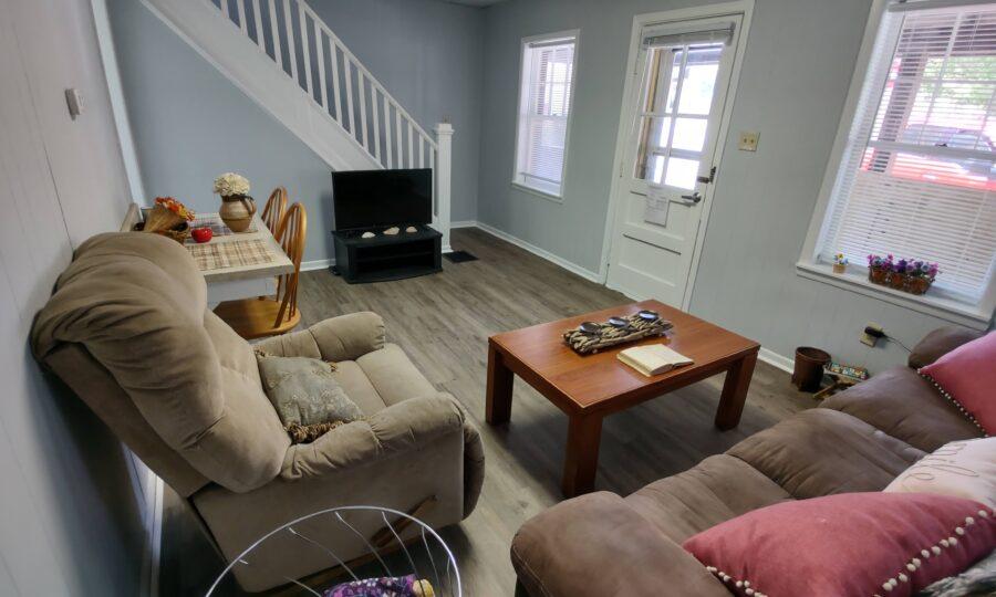 Living room of 3 bedroom